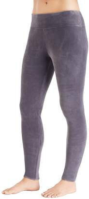 Cuddl Duds Women's Plush Velour Leggings