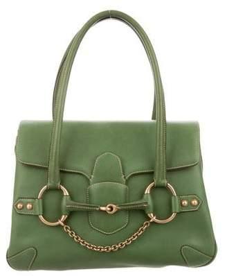 Gucci Horsebit Chain Leather Flap Bag