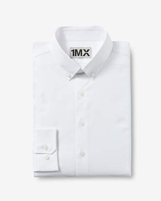 Express Slim Easy Care Button Down 1Mx Shirt