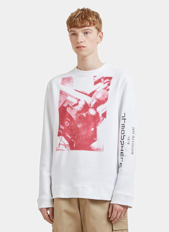 Joy Division Atmosphere Sweatshirt in White