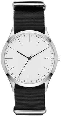 Skagen Men's Jorn Nylon Strap Watch, 41mm
