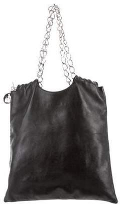 Lanvin Black Leather Hobo