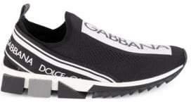 Dolce & Gabbana Sorrento Bassa Maglina Tech Knit Sneakers