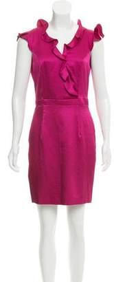 Zac Posen Z Spoke by Ruffle-Trimmed Mini Dress