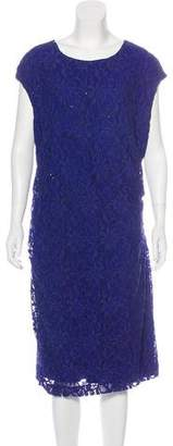 Lauren Ralph Lauren Midi Lace Dress
