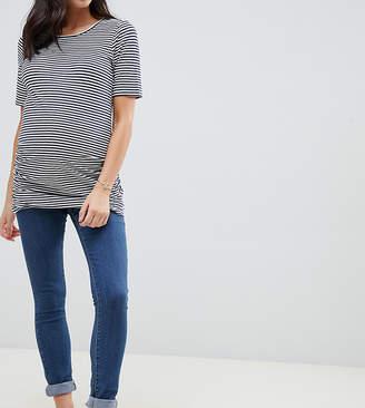 Mama Licious Mama.licious Mamalicious over bump band slim jeans