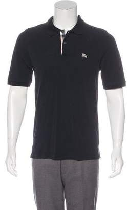 Burberry Equestrian Knight Device Polo Shirt