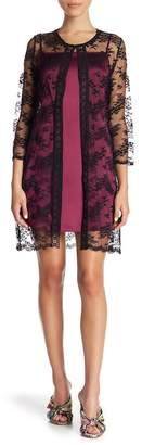 Anna Sui Fields of Flowers Lace Cover-Up
