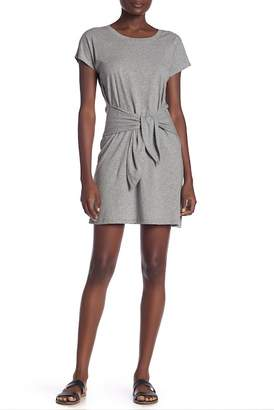 Joie Alyra Short Sleeve Knit Front Tie Dress