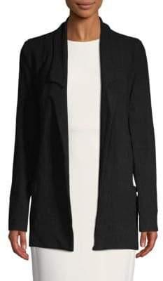 Oversized Knit Blazer