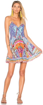 Camilla Tie Front Mini Dress $500 thestylecure.com