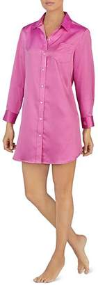 Ralph Lauren Satin Long-Sleeve Sleepshirt