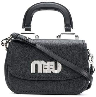Miu Miu logo cross-body bag