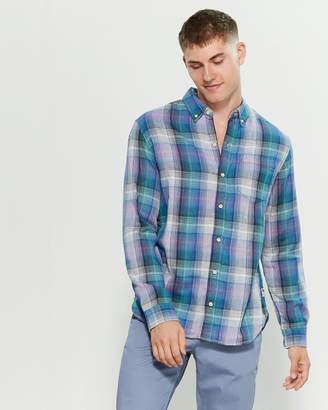 Surfside Supply Plaid Oswald Pocket Shirt