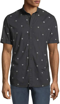 Rag & Bone Men's Smith Dagger-Print Short-Sleeve Sport Shirt