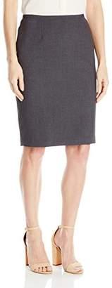 Calvin Klein Women's Lux Solid Pencil Skirt