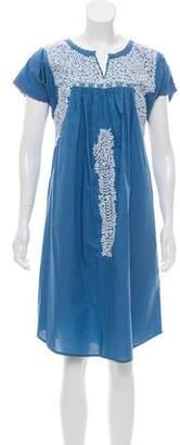 Ulla Johnson Short Sleeve Knee- Length Dress