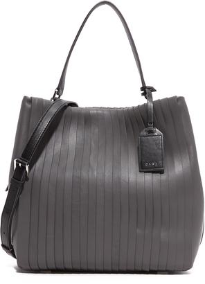DKNY Pleated Bucket Bag $598 thestylecure.com