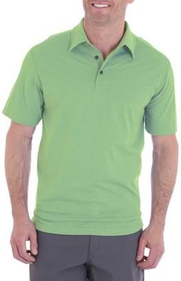 Wrangler Men's Short Sleeve Tri-Blend Polo