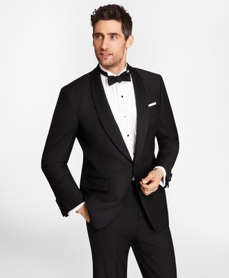 Brooks Brothers One-Button Shawl Collar Tuxedo Jacket