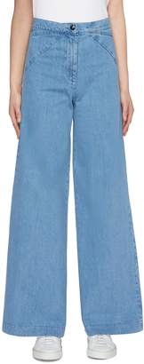 Barena 'Eugenia' wide leg denim pants