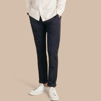 Burberry Slim Fit Cotton Chinos $195 thestylecure.com