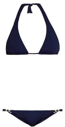 Melissa Odabash Cannes Triangle Bikini - Womens - Navy