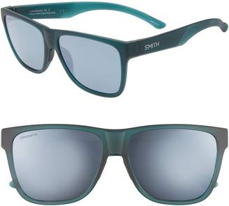 Smith Lowdown XL 2 60mm ChromaPop(TM) Square Sunglasses