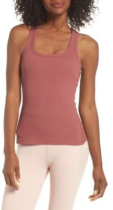 Alo Support Ribbed Racerback Tank