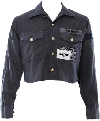 Riley Vintage Midnight Officer Jacket