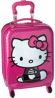 Hello Kitty Heys America 3D Pop Up Spinner Luggage Pullman Luggage