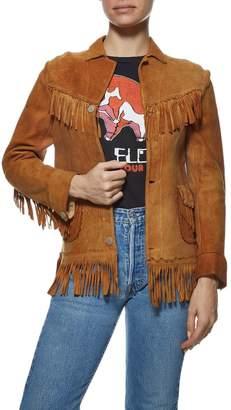 Vintage 1920s Suede Jacket
