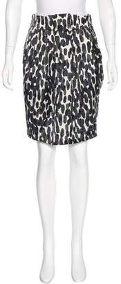 InWear Dotted Print Pencil Skirt