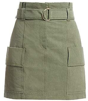 A.L.C. (エーエルシー) - A.L.C. A.L.C. Women's Kai Belted Cargo Mini Skirt