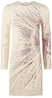 Valentino Fireworks Embroidered Dress