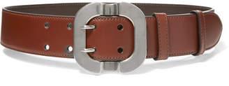 Miu Miu Leather Belt - Brown