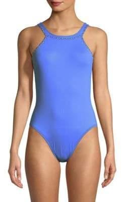 High Cut Hip One-Piece Swimsuit