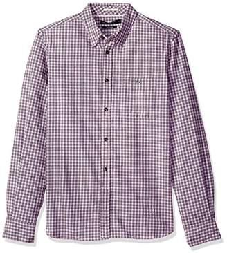French Connection Men's Hornblendite Grindle Check Shirt