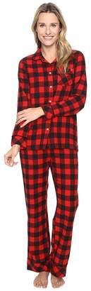 Woolrich First Light Yarn-Dye Set Women's Pajama Sets