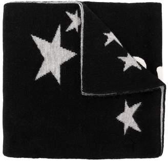 Burberry star knit scarf