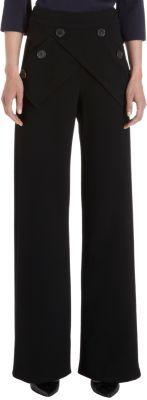 Derek Lam Cross Button Panel Sailor Pants