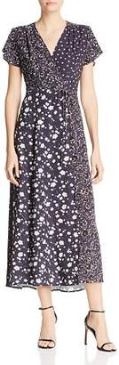 French Connection Aliyah Mixed-Floral Maxi Dress