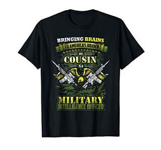 Military Intelligence Officer Cousin Pride T Shirt