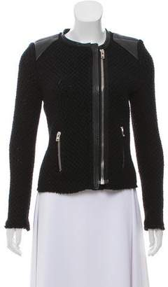 IRO Wool Collarless Jacket