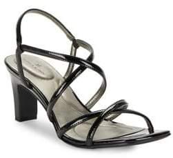 Bandolino Obex Patent Leather Sandals