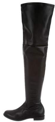 Studio Pollini Round-Toe Over-The-Knee Boots