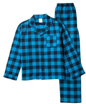14th & Union Family Sleep Plaid Pajama Set (Toddler, Little Kids, & Big Kids)