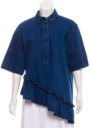 Marni Oversize Denim Top