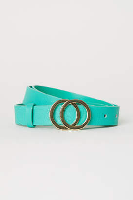 H&M Narrow Belt - Green