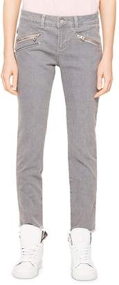 Zadig & Voltaire Ava Skinny Jeans in Gray - 100% Exclusive